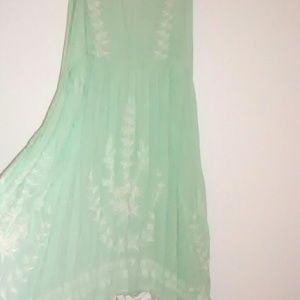 🎉Sale! FP Mint Meadows Dress xs altered